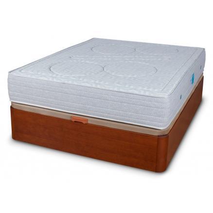 colchones canapé cerezo gran capacidad conjunto canapé colchón muelle